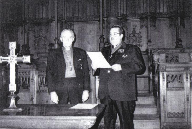 William James Mathias and Prince Kermit