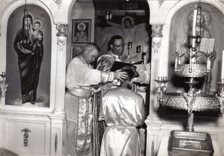 Consecration of Archbishop Robert Zeiger by Patriarch Peter II, 1961.