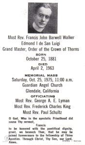 1975 Memorial Mass for Edmond I