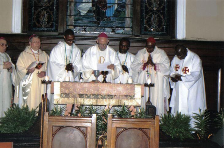 Consecration for OA-AOC 2013