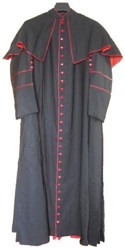 Cassock of ++Frederick Charles King
