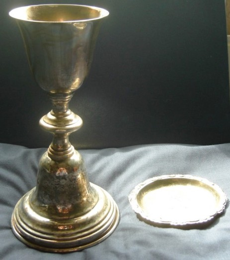 Chalice and paten of Edmond I