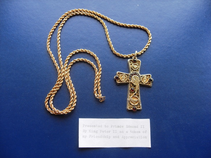 King Peter II Pectoral Cross