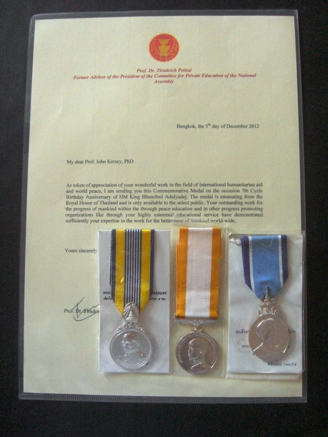 Thai medals