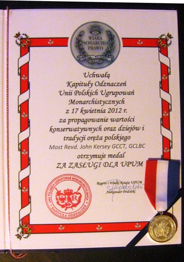 UPUM Medal of Merit