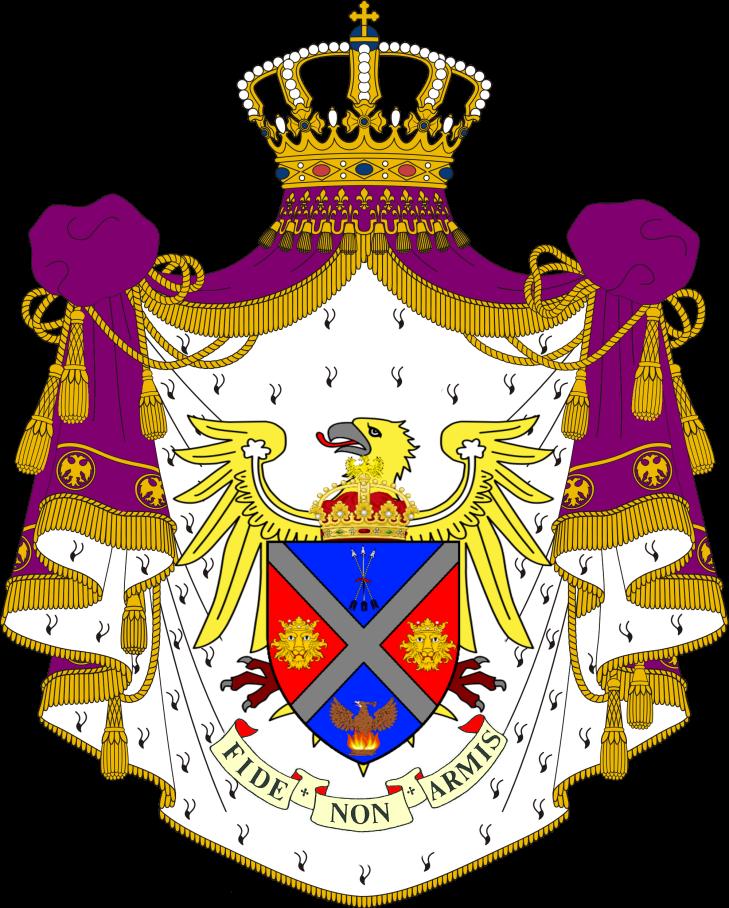 Full coat of arms Polanie-Patrikios
