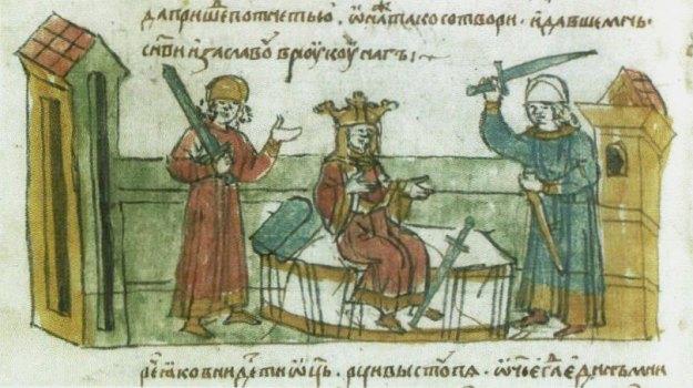 Iziasłaŭ,_Rahnieda,_Volodymyr