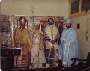Patriarch Peter II consecration of Andrei Nowak