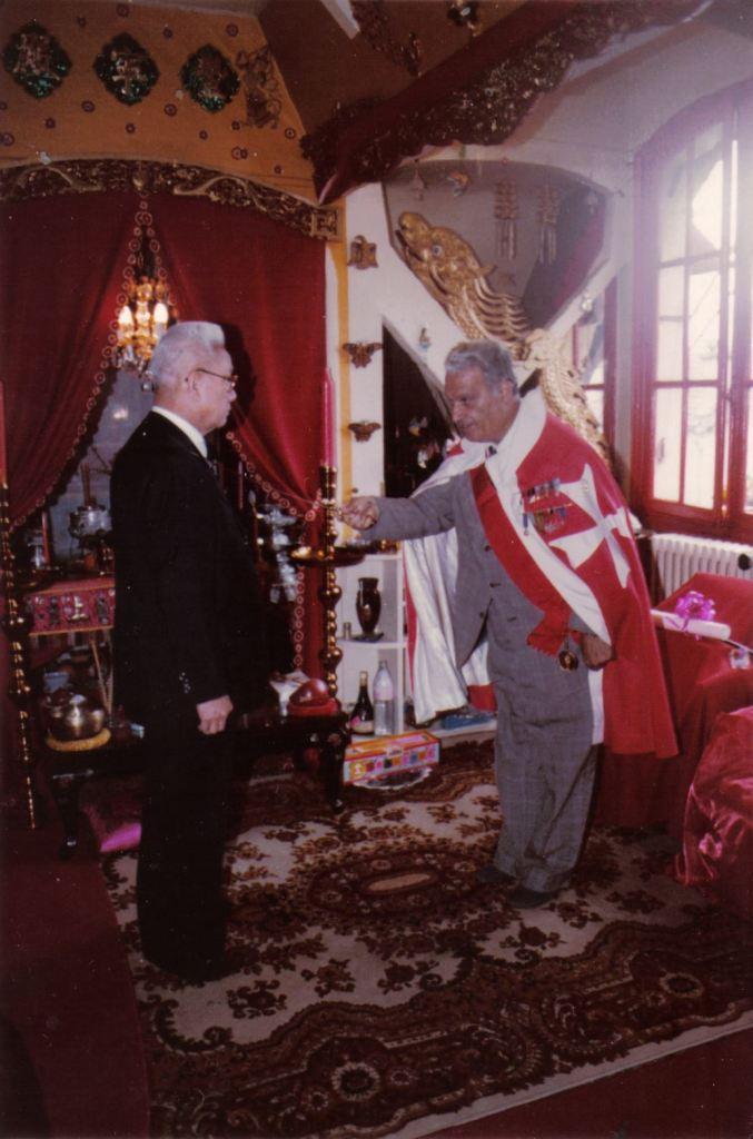 Presentation of Order of Golden Cross of Miensk