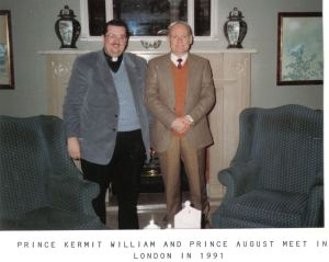 Prince August and Prince Kermit