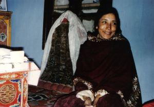 The Queen Mother of Ladakh.