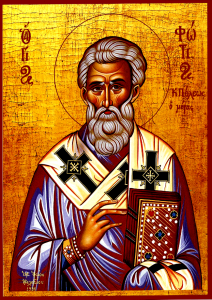 St Photios the Great, Ecumenical Patriarch