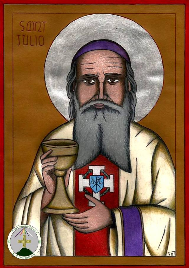 Icon of St Abbe Julio